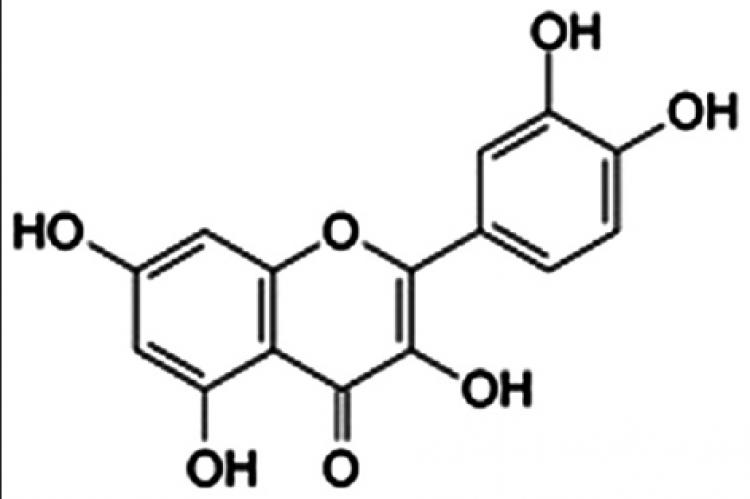 Structure of quercetin