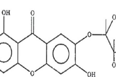 Structure of Mangiferin
